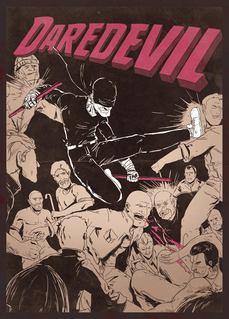 Daredevil by Barbeanicolas