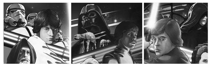 SW poster WIP by Barbeanicolas