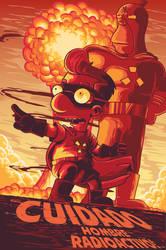 Radioactive man by Barbeanicolas