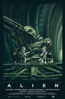 Alien alternative poster final by Barbeanicolas