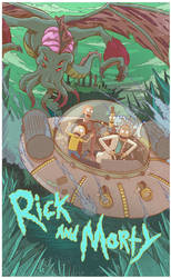 Rick and Morty by Barbeanicolas