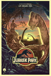 Jurassic park by Barbeanicolas