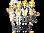 Rin and Len Kagamine (remake)