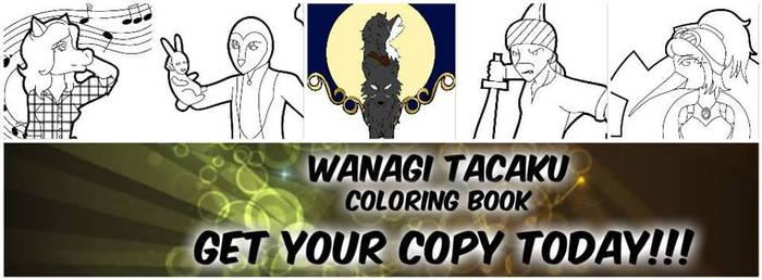 Wanagi Tacaku Coloring book by Me