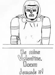 Doom Valentine by creeper23