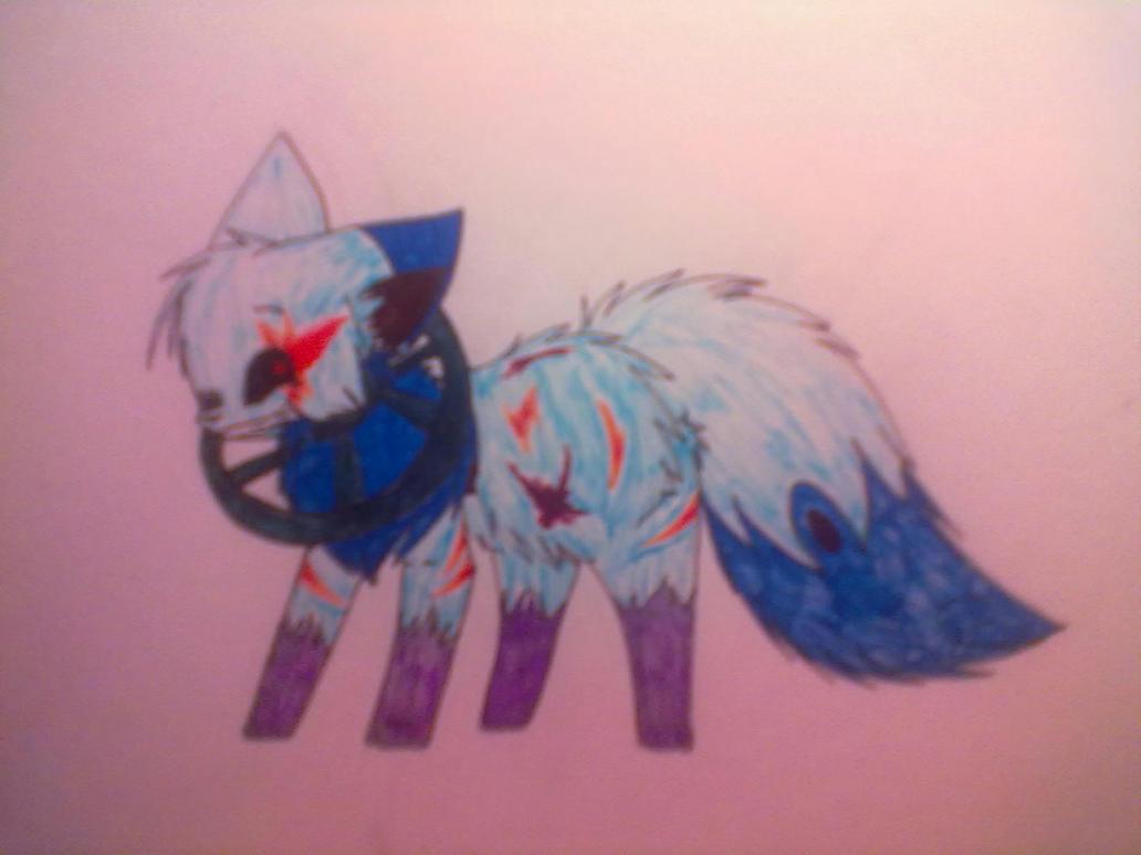 Emiju got Amnesia/insane form :D by PokeAnimalsLover