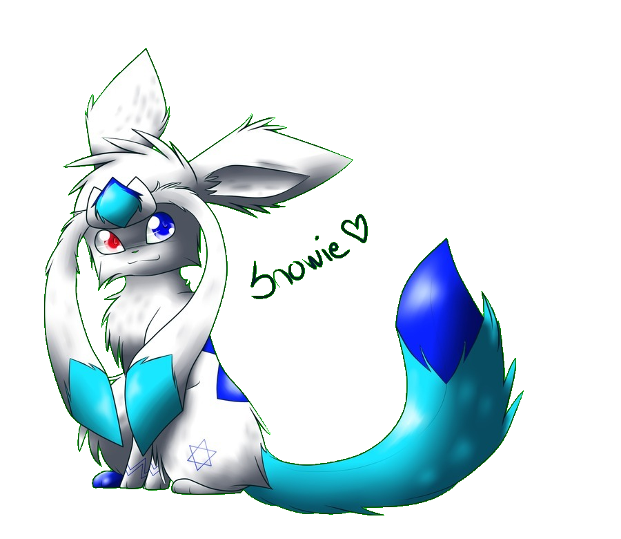 The legendary fluffy Glaceon by PokeAnimalsLover