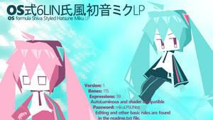 [MMD] OS formula Shiva styled Miku LP [DL link] by Orahi-shiro
