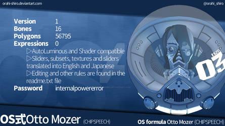 [MMD] OS formula Otto Mozer [DL link]
