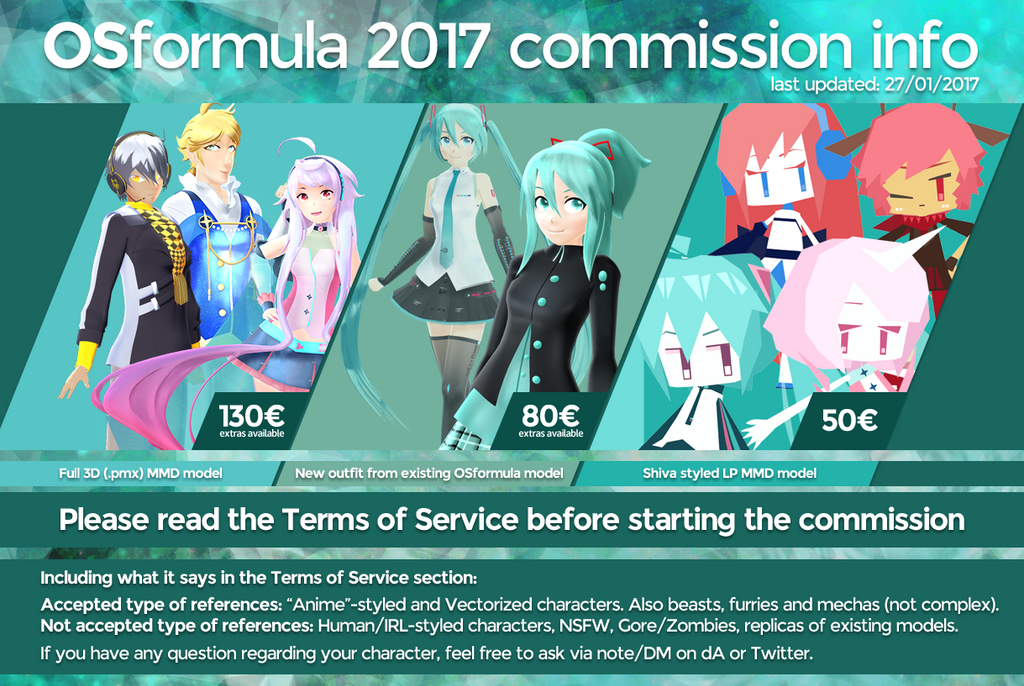 Mmd Model Commissions Open By Tundraviolet Deviantart – Dibujos Para
