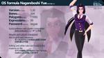[MMD] OS formula Nagareboshi Yue [DL link] by Orahi-shiro