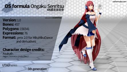 [MMD] OS formula Ongaku Senritsu [DL link] by Orahi-shiro