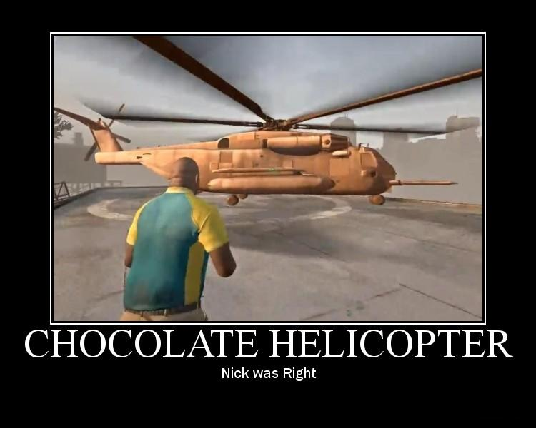 Chocolate Helicopter poster by JJWcool