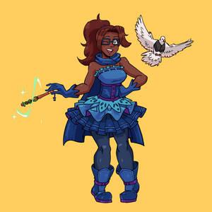 Magical Girl Phantom [Dreamkazoo Commission]