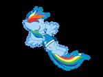 My very first vector - Rainbow Dash