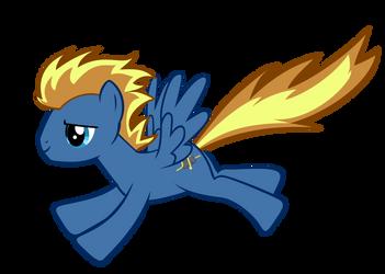 Downburst - Ponysona by Nyax