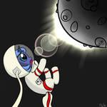 Luna is an Astronaut