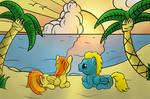 Flysymphony and Stunning_Spitfire on the Beach