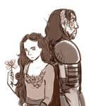 aSoIaF Sansa and the Hound