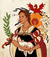 aSoIaF  Elia Martell by jubah