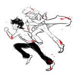 devilman - akira and ryo