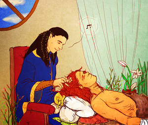 the healing of maedhros by jubah