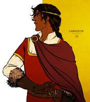 portrait of caranthir by jubah
