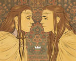 tolkien Elrond and Elros