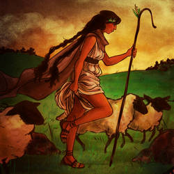 tolkien The Shepherd Queen by jubah