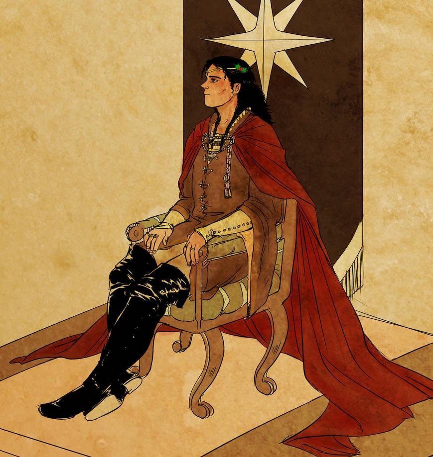 Celebrimbor king by jubah