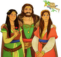 andreth's family by jubah