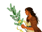 Erendis with the bough of return