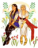anaire and earwen by jubah