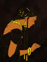 praying tar-miriel by jubah