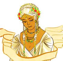 flower crown Miriel by jubah
