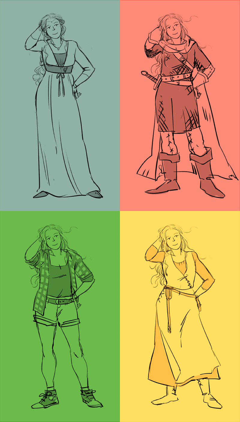 4 Nienors by jubah