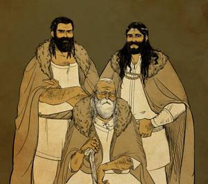 baran and his sons baranor and boron by jubah