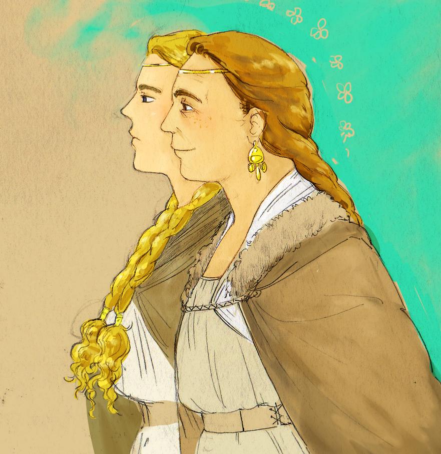 gloredhel and gildis by jubah