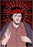 Will Graham suffers for Hannibal sins by Nibilondiel