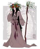 Slavic Witch by Nibilondiel