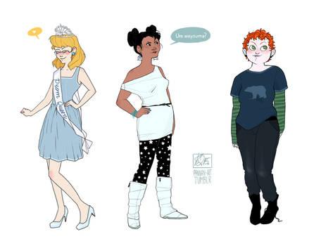 Modern Disney Girls III
