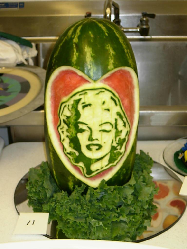 Melon Monroe by culinarypornstar