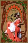 Celtic Rose- Art Nouveau