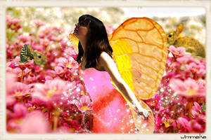 Alantra the winged fairy of butterflies by Wimmeke63