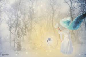 L'oiseau Bleu  by Wimmeke63
