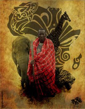 Portrait of a Massai