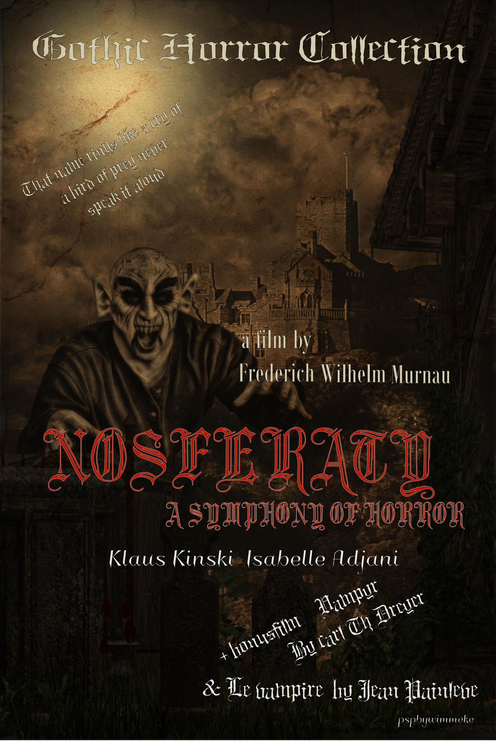 Nosferatu by Wimmeke63