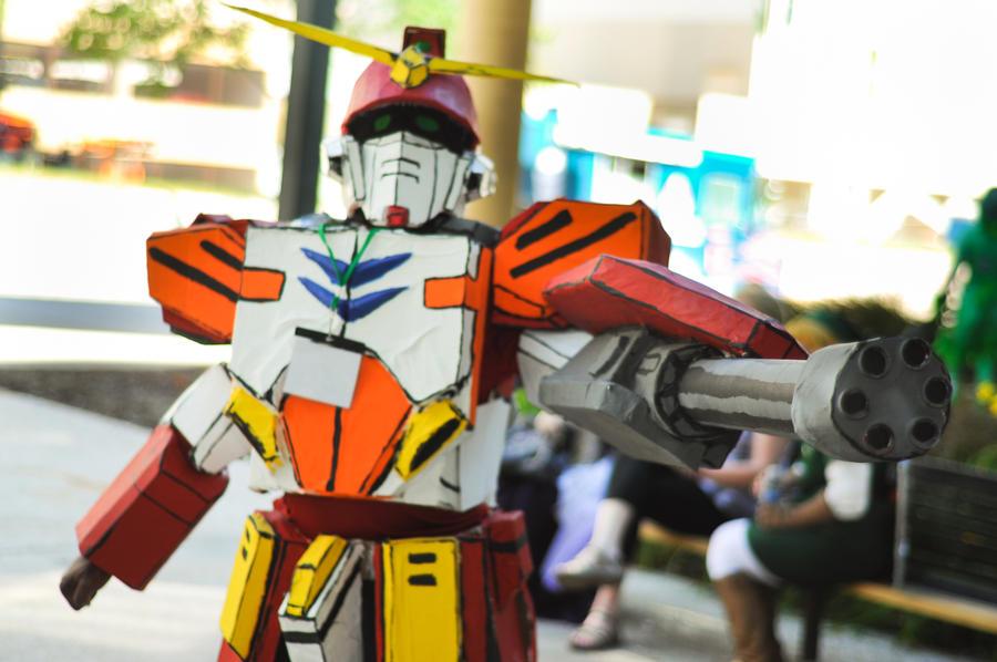 gundam wing heavy arms cosplay by marcusfenixdown on