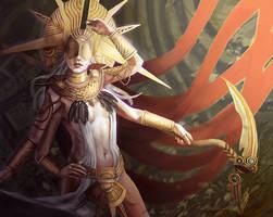Thiama, goddess. by Surimy