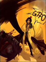 GTFO, you XXX Ghoul by Tsuminoaru